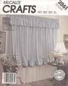 McCall's Crafts 2861 Pattern for Window Dressing
