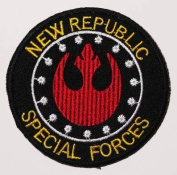NEW REPUBLIC SPECIAL FORCES - Star Wars 10cm MovieEmbroidered iron-on/sew-on patch