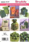 Simplicity 4800 Gift Packaging andstationery