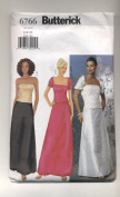 Butterick Shrug, Top, Skirt, Formal Wear, Evening Wear Sewing Pattern #6766
