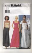 Butterick Shrug, Top, Skirt, Formal Wear, Evening Wear Sewing Pattern #6766
