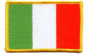 Ireland iron-on embroidered patch