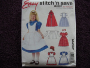 McCalls Easy Stitch N Save Pattern M4567 Girls