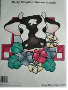 DAISY DAIRY COW DAISY KINGDOM IRON-ON TRANSFER #6403