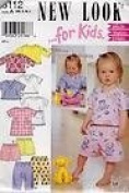 New Look Pattern for Kids 6112