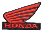 Honda Wing R/B Motorcycles Racing Dirt bike Symbol BH02 Sew Iron on Patches