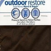 Bondex Outdoor Pressure Sensitive Sticky Nylon Mend Repair Patches Brown