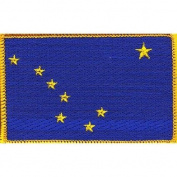 Alaska State Flag Patch