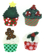 Dress It Up 7474 Christmas Cupcakes