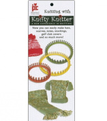 Knitting With Knifty Knitter