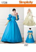 "Simplicity 1728, Misses' ""Snow White""Costume, Size 4-12"