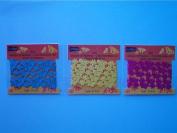 Studio18 Trim, Fuchsia/Yellow/Turquoise, 3 Packs