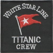 Titanic Crew (White Star Line) Patch 7.5CM X 7.5CM
