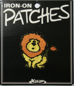 Lion Wild Animal Carded Iron On Patch