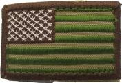 Multicam USA American Flag Hook & Loop Patch