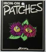 Flirting Flowers Iron On Applique Patch EP347