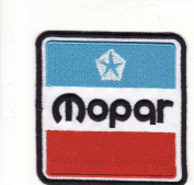 Mopar Performance Parts Racing Car Embroidered Iron on Patch