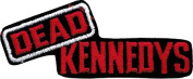 Dead Kennedys - Red Logo On Black - Embroidered Sew or Iron on Patch