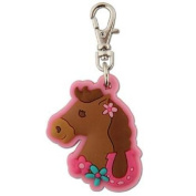 Stephen Joseph Zipper Pull - Girl Horse