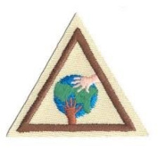 Brownie Girl Scout Try-it Around the World