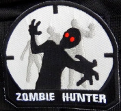 Zombie Hunter black tactical patch