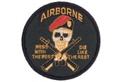 "Airborne Patch ""Mess with the best.."""