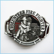 Brand:choi Western Volunteer Fire Fighter Fireman 3d Enamelled Oc-009