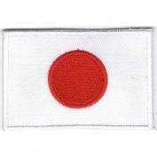 Flag of Japan Iron On Patch