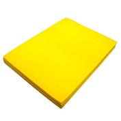 Yellow Fun Foam Sheet 23cm X 30cm X 0.2cm Thick