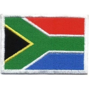 Flag of South Africa Iron On Patch