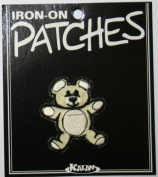 Teddy Bear Iron On Applique Patch