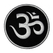 Hindu Hinduism DIY Applique Embroidered Sew Iron on Patch