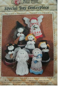 SPECIAL DAY centrepiece DOLLS SEWING PATTERN FROM PATCH PRESS #354C