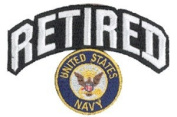 Navy Retired Patch