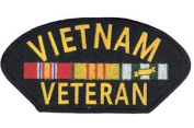 Vietnam Veteran Patch - Large