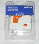 Brother Applique Station Pre-Filled Thread Cartridge 209 ORANGE