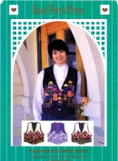 Back Porch Press Sewing Pattern Misses Folkart House Vest Size 6 - 22