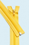 90cm Light Weight Jacket Zipper ~ YKK #5 Nylon Coil Separating Zippers - 506 Buttercup
