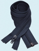 90cm Light Weight Jacket Zipper ~ YKK #5 Nylon Coil Separating Zippers - 560 Navy