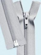 90cm Light Weight Jacket Zipper ~ YKK #5 Nylon Coil Separating Zippers - 119 Lite Grey