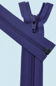 90cm Light Weight Jacket Zipper ~ YKK #5 Nylon Coil Separating Zippers - 866 Deep Purple
