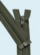 90cm Light Weight Jacket Zipper ~ YKK #5 Nylon Coil Separating Zippers - 567 Olive Green