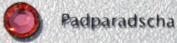 . Elements Crystal Flatback Rhinestones #2028 SS30 Padparadscha