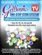 GeMagic/Bedazzler 250 Gem-Coloured Rhinestones