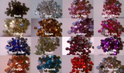(100) 12mm Rhinestones-Assorted Mix