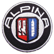 ALPINA BMW Cars Sports B7 E30 E36 Logo Shirt Iron on Patches PB27