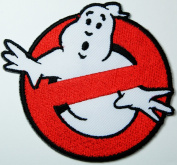 Ghost Busters Patches Movie Logo Embroidered Iron on Patch 6x6 Cm