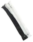 YKK #3 NYLON SKIRT ZIPPER USA 18cm blk-3 wht-3