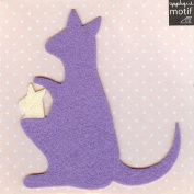 Kangaroo Design Iron on Applique