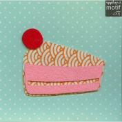 Cake Design Iron on Applique